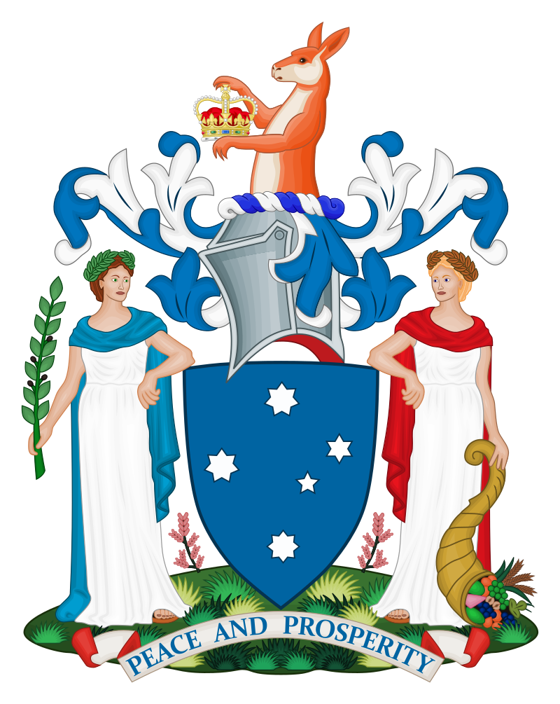 Coat of arms of Victoria state
